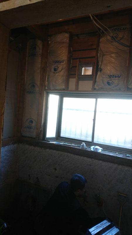 バスルーム 解体工事