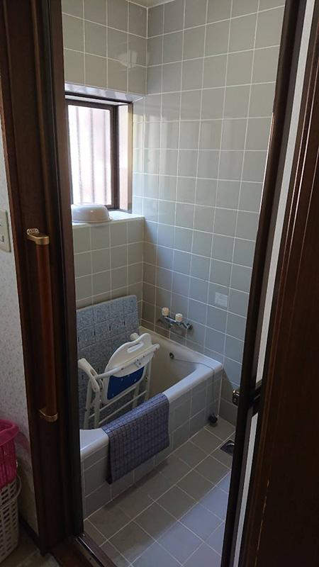 バスルーム リフォーム前